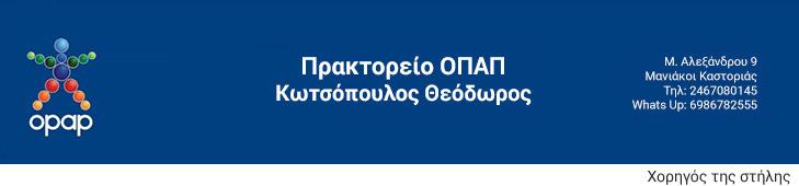 Πρακτορείο ΟΠΑΠ Κωτσόπουλος Θεόδωρος